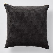 Quilted Suede Cushion - Grey Target Room Decor, Home Living Room, Living Room Decor, Velvet Cushions, My Dream Home, New Homes, Plush, Throw Pillows, Canvas