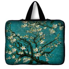 7 10 11.6 13 13.3 15.4 15.6 inch Butterfly Flower Notebook Laptop Sleeve Bag Case Carrying Handle Bag For Macbook Air/Pro/Retina - TMACHE