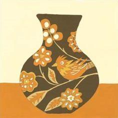Take Wing In Orange Ii By Vision Studio
