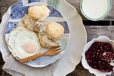 I almost don't want to share this...creamy biscuits and sausage gravy. It's off of one of my favorite blogs Food for My Family. Go check it out