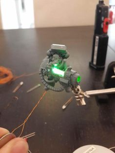 [Blind them with SCIENCE] LEDs, Space Marines and You by Boss Fearless - Forum - DakkaDakka | Toy Soldiers for *real* men.