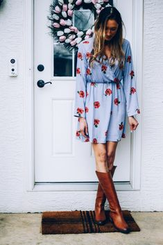 6 Spring Outfit Ideas with Boots - Instinctively en Vogue #fashion #style #spring