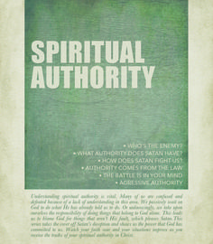 Understanding spiritual authority is vital. Many of us are confused and defeated because of a lack of understanding in this area. We passively wait on God to do what He has already told us to do. Or unknowingly, we take upon ourselves the responsibility of doing things that belong to God alone. Watch your faith soar and your situations improve as you receive the truths of your spiritual authority in Christ. http://www.awmi.net/extra/audio/1017