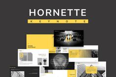 Hornette Powerpoint by VisualColony on Envato Elements Powerpoint Slide Designs, Powerpoint Design Templates, Professional Powerpoint Templates, Powerpoint Themes, Microsoft Powerpoint, Keynote Template, Presentation Slides Design, Slideshow Presentation, Business Presentation