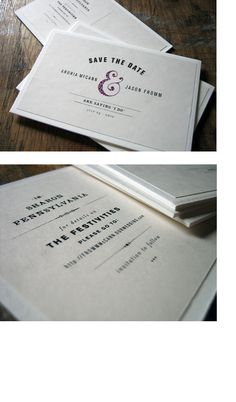 """Save thedates. #ampersandlove  Looks like the wedding invitation is just an excuse to give a card with """"&"""" in it"""