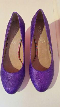 Cadbury Purple Shoes Size