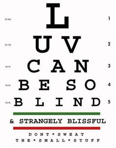 or at least visually impaired
