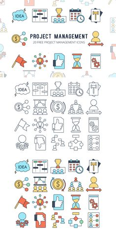 Before you - Project Management Vector Free Icon Set. Each icon has two options. Profolio Design, Icon Design, Powerpoint Icon, Bible Doodling, Drawing Journal, Sketch Notes, Line Icon, Design Thinking, Graphic Design Illustration