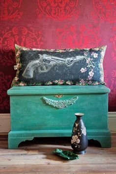 Embedded image permalink Using Chalk Paint, Annie Sloan, Embedded Image Permalink, Hope Chest, Storage Chest, Wildlife, Colours, Unique, Animals