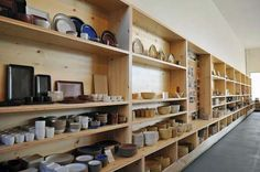 Heath Ceramics. Where I wish I could have registered for my wedding or something. A great place for gifts.