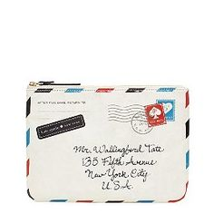 so cute...and the address on front is @katespadeny 5th Avenue store location