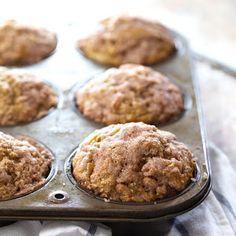 Healthy Cinnamon Sugar Apple Muffins Recipe | Yummly