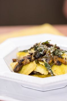This recipe for homemade brown butter mushroom and sage ravioli is so easy.
