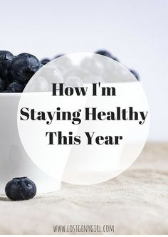 How I'm Staying Healthy This Year #NatureMade #IC #ad