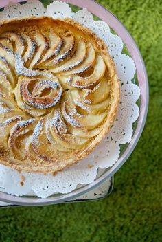 Raymond Blanc's Apple Tart ... ok,  yeah, I'm a sucker for almost anything with apples.