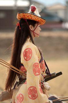 Yabusame,Japanese ritual mounted archery
