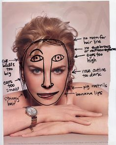 Common Mistakes When Drawing the Face - page 2