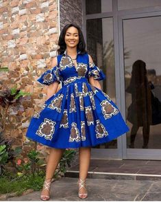 African Party Dresses, Latest African Fashion Dresses, African Print Dresses, African Dresses For Women, African Print Fashion, Africa Fashion, African Attire, Nigerian Fashion, Ghanaian Fashion
