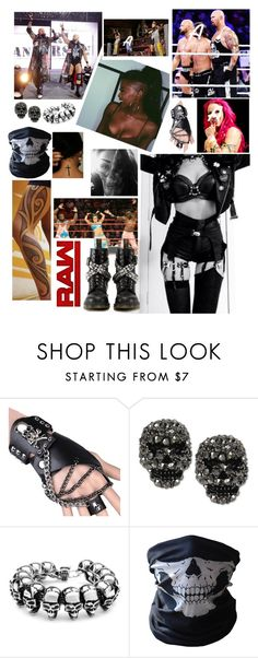 """""""🌪 Anastasia 🌪 Raw 🔴 Teaming up with the Club against Bayley and The new Day"""" by queenofwrestling ❤ liked on Polyvore featuring Betsey Johnson, BUFF, Dr. Martens, WWE, wrestling and theclub"""