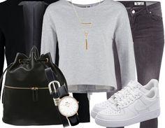 Tolle Sneaker lassen sich zu jedem Outfit kombinieren! ♥ ab 100,00€ #airforce1 #nike #white