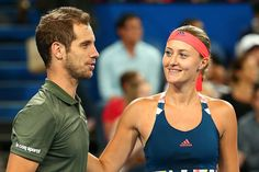 1/6/17 Hopman Cup Final: FRA v USA ..Via Tennis 24/7   ·  Richard Gasquet/ Kiki Mladenovic defeat Roger Federer/ Belinda Bencic in the Hopman Cup Fast-4 Mixed Doubles, 4-2 4-2. France beat Switzerland 2-1 and Tops Group A!