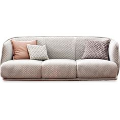 Moroso Redondo 3-Seat Sofa 245 (382,855 PHP) ❤ liked on Polyvore featuring 3 seater couch, three seater sofa and 3 seater sofa