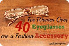 Eyeglasses: Fashion & Beauty For Women Over 40