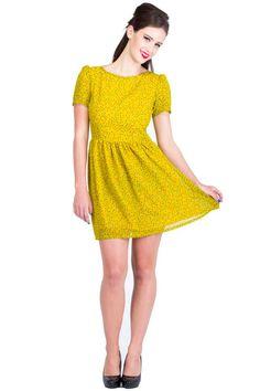 Cute dress with cute cuts