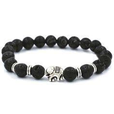 Elephant Lava Stone Diffuser Bracelet | Vitality Extracts