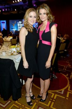 #StanaKatic & #SashaAlexander at the Writers Guild of America Awards (2014)