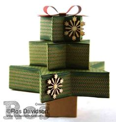 Many Merry Stars Tree made using many merry stars simply created kit Stampin Up Many Merry Stars, Christmas Card Crafts, Christmas Tree, Paper Mache Crafts, Holiday 2014, Stampin Up Catalog, Stamp Sets, Otp, Decorative Boxes