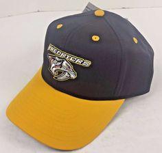 NASHVILLE PREDATORS Embroiderd Hat Cap Snapback - NHL Coolest Game on Earth NEW  | eBay