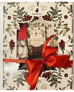 Joulun herkullisin lahjalaatikko Gift Wrapping, Gifts, Gift Wrapping Paper, Presents, Wrapping Gifts, Favors, Gift Packaging, Gift