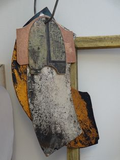 Tinsmith Templates - Part of installation for solo show at Edinburgh Printmakers Gallery. Artist: Rebecca Gouldson