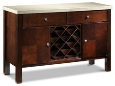 Casual Dining Room Furniture Courtyard II Server