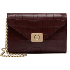 Mulberry Delphie Clutch (1,035,815 KRW) ❤ liked on Polyvore featuring bags, handbags, clutches, purses, oxblood, handbags & purses, oxblood handbag, hand bags, man bag and mulberry purse