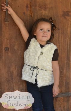INSTANT DOWNLOAD Coco Vest Sizes 12/18 months by sewsweetpatterns, $5.00