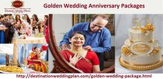 Make your Parents Golden Wedding Anniversary a memorable one because very few couples are blessed with this Day. It's a tribute to your parents for achieving the important milstone in the passage of life. For more information, please visit us online http://destinationweddingplan.com/golden-wedding-package.html or call us at +91-9555088060.