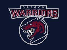 Dragon Warriors by Marcin Marszałek #dragon #warrior #logo #vector #marcin marszałek