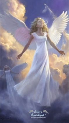 Biology of Fantasy: Let's Get Real, Shall We? Guardian Angel Pictures, Angel Images, Guardian Angels, Beautiful Fantasy Art, Beautiful Gif, Beautiful Angels Pictures, Angel Flying, Angel Artwork, Animated Love Images