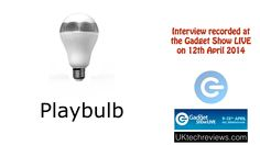 Gadget Show Live 2014 Looking at the Playbulb