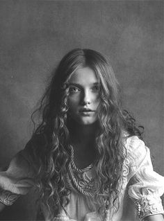 Lettie Fischer by Patrick Demarchelier