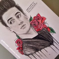 look at sadxastic's Brendon Urie art!