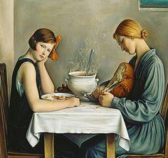 """Francois Emile Barraud - """"La Tailleuse de Soupe"""", 1933"""