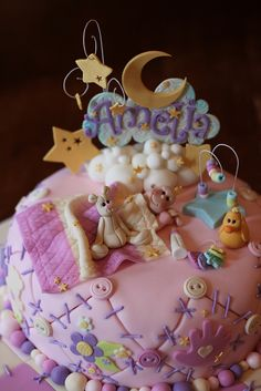 Quilted baby shower cake by Andrea's SweetCakes, via Flickr