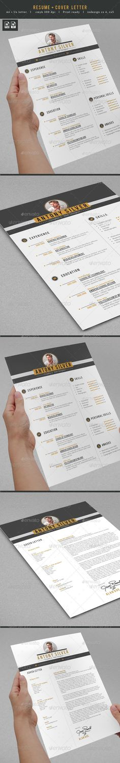 Professional Resume - #Resumes Stationery Download here:  https://graphicriver.net/item/professional-resume/7422323?ref=Suz_562geid