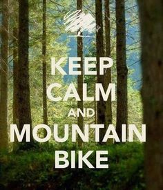 Keep calm mountain bike | Enduro, descenso, montainbike | Pinterest