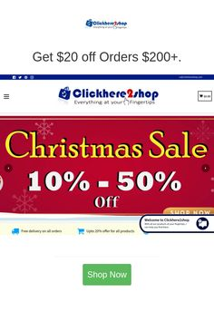 Best deals and coupons for Click Here 2 Shop