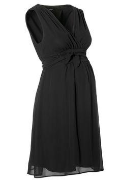 Robe de grossesse habillée noire Liane 70459 NOPPIES Détail Photo