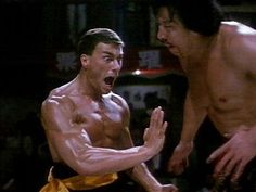 Jean Claude Van Damme in Bloodsport